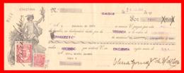 LETRA DE CAMBIO QUE PODEMOS DEFINIRLA COMO UN DOCUMENTO MERCANTIL AÑO 1936 - Letras De Cambio