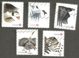 Sc # 2930-34 Birds Of Canada Booklet Set Used 2016 K257 - 1952-.... Règne D'Elizabeth II