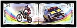 Moldova 2015 Mih. 939/40 Motosport MNH ** - Moldova