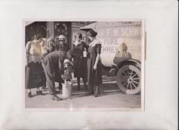 MILK SOLD MR WADE SCHWEIR POLEGATE SUSSEX EASTBOURNE  LONDON MOTER MILK VAN UK  20*15CM Fonds Victor FORBIN 1864-1947 - Sin Clasificación