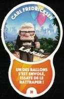 Carte à Collectionner Auchan Les Défis Challenge Carl Fredricksen Là Haut 31 / 96 - Autres Collections