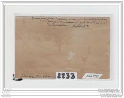 8401 AK/PC/CARTE PHOTO A IDENTIFIER/2233/BERGERE AVEC SES CHEVRES - Cartoline