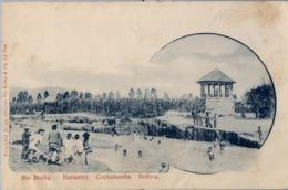 1906 BOLIVIA , TARJETA POSTAL ESCRITA NO CIRCULADA ,  RIO ROCHA - BAÑANTES , COCHABAMBA - Bolivia