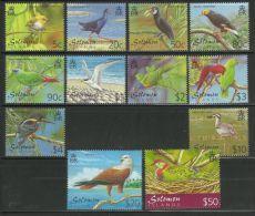 SOLOMON ISLANDS  2001  BIRDS  SET  MNH - Pájaros