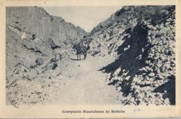 1911 BOLIVIA , TARJETA POSTAL CIRCULADA ,  COMPAÑIA HUANCHACA DE BOLIVIA - Bolivia
