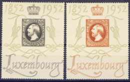 "1952-(MNH=**) Lussemburgo S.2v.""Centilux"" - Nuovi"