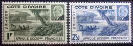 COTE D'IVOIRE                   N° 169/170                     NEUF* - Unused Stamps