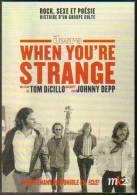 """Carte Postale """"Cart'Com"""" - Doors - Jim Morrison - When You're Strange (Rock, Sexe Et Poésie) Cinéma, Film, Affiche - Posters On Cards"""