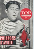 TOP REALITES JEUNESSE N° 281 Francis Blanche 1964 - Informations Générales