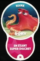 Carte à Collectionner Disney Auchan Les Défis Effet Hank Le Monde De Dory 74 / 96 - Autres Collections