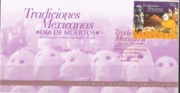 2011 México FDC Mexican Traditions, Day Of The Dead *UNESCO* Día De Muertos / ALL SOULS 'DAY, SOBRE PRIMER DÍA - México