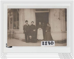 8404 AK/PC/CARTE PHOTO A IDENTIFIER/2230 RESTAURANT ET GROUPE - Cartoline