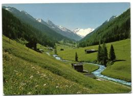 Davos - Dischmatal Mit Schwarzhorn Und Scalettagletscher - GR Graubünden