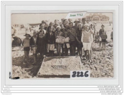 8408 AK/PC/CARTE PHOTO A IDENTIFIER/2226/CONCOURS DE PLAGE - Cartoline