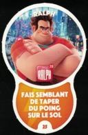 Carte à Collectionner Disney Auchan Les Défis Challenge Ralph 25 / 96 - Autres Collections