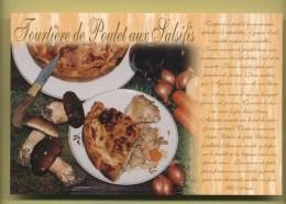 Tourtiere De Poulet Aux Salsifis ( Champignons Cepes ) - Recettes (cuisine)