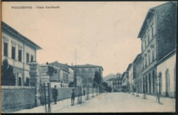 °°° 14344 - POGGIBONSI - VIALE GARIBALDI (SI) 1932 °°° - Andere Steden