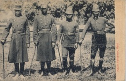 1912 SUDAFRICA , TARJETA POSTAL  CIRCULADA , CAPETOWN , NATIVE POLICEMEN - NATAL , POLICIA , POLICE , POLITIE - Policia – Gendarmería