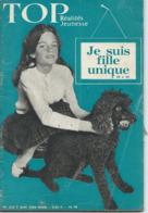 TOP REALITES JEUNESSE N° 229 1963 Fille Unique - Informations Générales