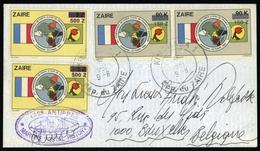 1991, Zaire, 773, 777, Brief - Zaire