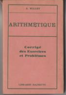 Livre ARITHMETIQUE Corrigé Des Exercices Et Problèmes - Boeken, Tijdschriften, Stripverhalen