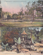 2 Cartes: CILAOS Séminaire Coin Du Parc, Terrain De Foot-ball - La Réunion
