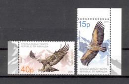 Abkhazia 2019 Europa SEPT National Birds 2v**MNH - Europe (Other)