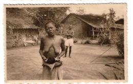 Lombolombo - Wafanya - Instantané Dans Un Coin Du Village - Vendu Au Profit De La Léproserie - 2 Scans - Congo Belge - Autres