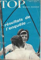 TOP REALITES JEUNESSE N° 232 1963 Résultats Enquête - Informations Générales