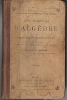 Cours Elémentaire D'ALGEBRE Par L'Abbé Ch. MENUGE - Boeken, Tijdschriften, Stripverhalen