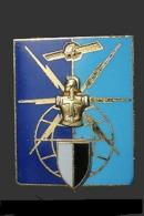 Broche De L'insigne Militaire De La Direction Des Télécommunications. (Réf: Balme-Saumur G 3913) - Army