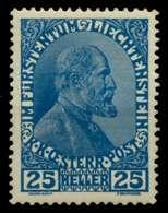 LIECHTENSTEIN 1917 Nr 9 Postfrisch X6F6E3A - Nuevos