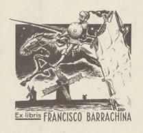 Ex Libris JAP - Francisco Barrachina (Don Quichote) - Exlibris