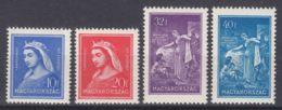 Hungary 1932 Mi#480-483 Mint Never Hinged - Unused Stamps