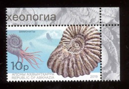 Abkhazia 2019 Prehistorical Fauna 1v** MNH - Europe (Other)