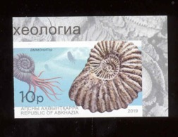 Abkhazia 2019 Prehistorical Fauna 1v** MNH Imperforated - Europe (Other)