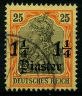 DAP TÜRKEI Nr 27 Gestempelt X70589E - Deutsche Post In Der Türkei