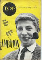 TOP REALITES JEUNESSE N° 272 1964 L'Ambition - Informations Générales