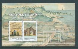 Norfolk Island 2017 Convict Heritage Miniature Sheet MNH - Norfolk Island