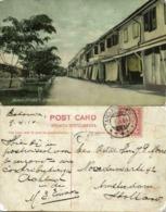 Malay Malaysia, LABUAN BORNEO, Beach Street (1914) Postcard - Malaysia