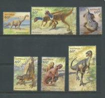 Australia 2013 Dinosaurs Set 6 MNH - Mint Stamps