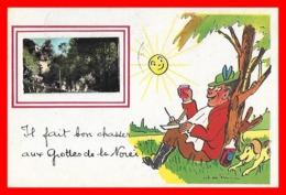 CPA (86) BIARD.   Il Fait Bon Chasser Aux Grotte De La Norée...S1804 - France