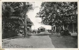British North Borneo, SABAH SANDAKAN, Lorong Riga 3rd Lane, Park Market (1921) - Malaysia