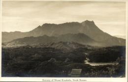 British North Borneo, SABAH MALAYSIA, Scenery Of Mount Kinabalu (1920s) RP - Malaysia