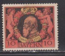 BARVARIA Scott # 93 MH - Prince Regent Luitpold - Bavaria