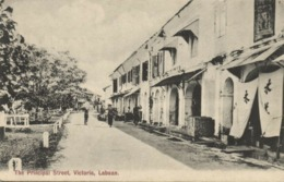 Malay Malaysia, LABUAN VICTORIA BORNEO, Principal Street (1910s) Postcard - Malaysia