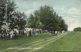 Malay Malaysia, LABUAN BORNEO, Road To The Race Course (1910s) Postcard (2) - Malaysia