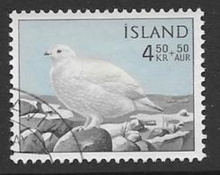 Iceland Scott # B20 Used Rock Ptarmigan, 1965 - 1944-... Republic