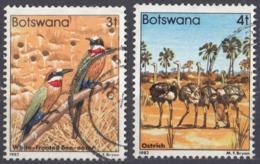 BOTSWANA - 1982 - Lotto Di 2 Valori Usati: Yvert 453 E 454. - Botswana (1966-...)