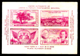8282  USA Yv B 6 - No Gum - Free Shipping - 1,75 (5) - Unused Stamps